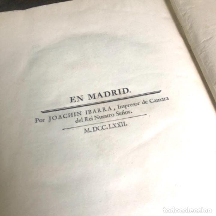 Libros antiguos: La Conjuración de Catilina y la guerra de Jugurta. Salustio en español por Ibarra año 1772 - Foto 13 - 223258452