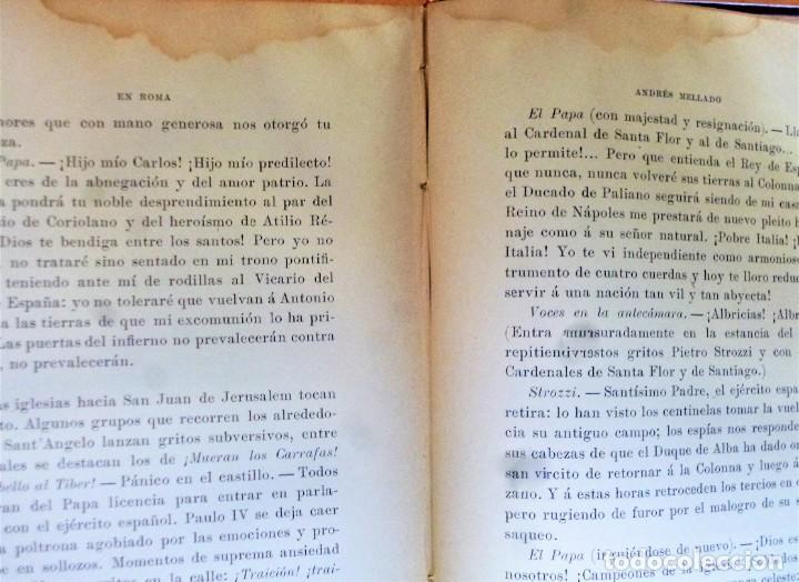 Libros antiguos: EN ROMA, ESCENAS Y CUADROS - Foto 4 - 223911413