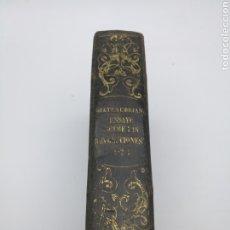 Livres anciens: ENSAYO REVOLUCIONES LAS REVOLUCIÓN 1847 3 TRES PARTES MISMO TOMO. Lote 224334756