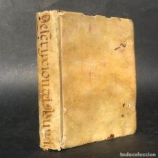 Libros antiguos: 1748 DESCRIPCION DE TODAS LAS PROVINCIAS, REYNOS, ESTADOS Y CIUDADES DEL MUNDO - PERGAMINO - GEOGRAF. Lote 224627292