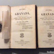 Libros antiguos: HISTORIA DE GRANADA - ALMERÍA, JAÉN, GRANADA Y MÁLAGA - LAFUENTE -PARIS 1852. Lote 224782711