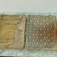 Libros antiguos: 1851 HISTORIA DE FRANCIA TOMO 1 Y 2 POR GERMAN SARRUT. Lote 225288955