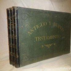 Libros antiguos: COLECCION LAMINAS DEL ANTIGUO Y NUEVO TESTAMENTO - AÑO 1885 - SCHNORR DE CAROLSFELD - EXPECTACULAR.. Lote 226310115
