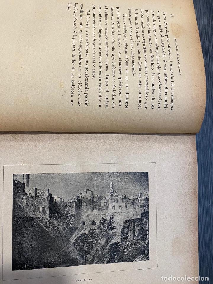 Libros antiguos: LOS HEROES DE LAS CRUZADAS / PEDRO UMBERT - Foto 5 - 226628060