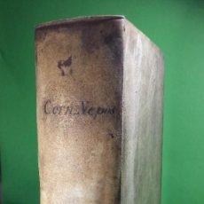 Libros antiguos: 1.773 CORNELII NEPOTIS VITAE EXCELLESTIUM IMPERATORUM. NO CATALOGADO. Lote 226644170