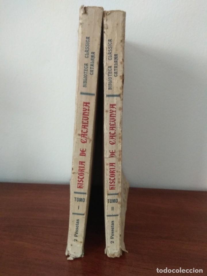 Libros antiguos: HISTORIA DE CATALUNYA POR A.DE BOFARULL 1906 (TOMO I Y II) - Foto 2 - 229026985