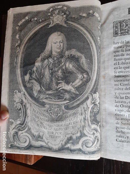Libros antiguos: DEFINICIONES DE LA ORDEN DE CALATRAVA 1748 - Foto 3 - 230054070