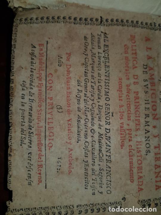 Libros antiguos: EL HIJO DE DAVID SALOMON CORONADO Y ACCIONES DE SU MINORIDAD, PREMIO DE LA OBEDIENCIA Y CASTIGO A LA - Foto 6 - 230341540