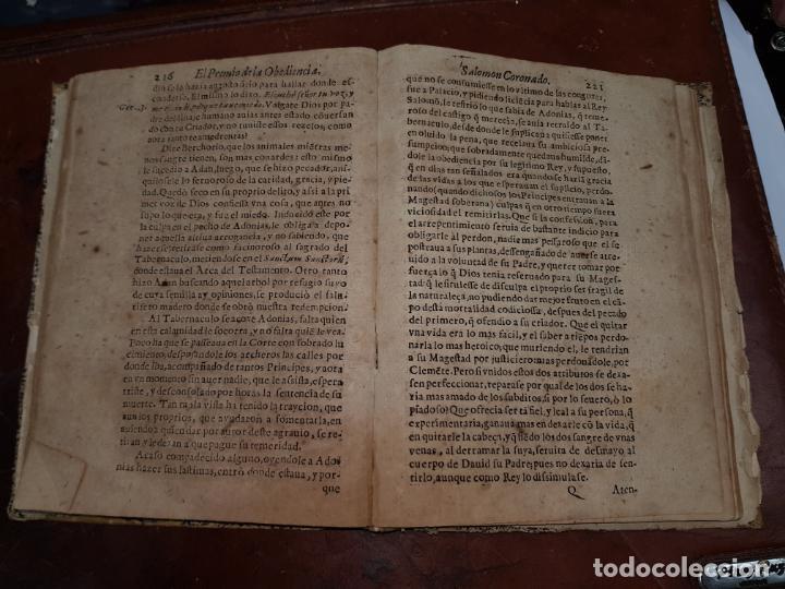 Libros antiguos: EL HIJO DE DAVID SALOMON CORONADO Y ACCIONES DE SU MINORIDAD, PREMIO DE LA OBEDIENCIA Y CASTIGO A LA - Foto 9 - 230341540
