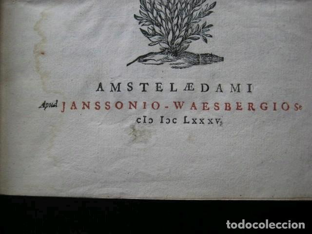 Libros antiguos: VETERUM ROMANORUM RELIGIÓN CASTRAMETATIO...., 1685. Guilielmo du Choul. Grabados - Foto 5 - 230415295