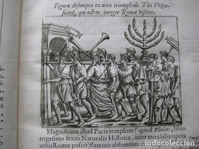 Libros antiguos: VETERUM ROMANORUM RELIGIÓN CASTRAMETATIO...., 1685. Guilielmo du Choul. Grabados - Foto 7 - 230415295