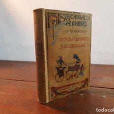 Libros antiguos: EN TIEMPO DE RAMSES Y ASSURBANIPAL - G. MASPERO - DANIEL JORRO EDITOR, 1913, MADRID. Lote 231305925