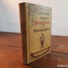 Libros antiguos: HISTORIA UNIVERSAL II, HISTORIA DE ROMA - SEIGNOBOS - JORRO EDITOR, 1925, MADRID. Lote 231308365