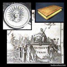 Libros antiguos: AÑO 1780 HISPANIA GUERRAS PÚNICAS CARTAGO ANÍBAL HISTORIA ANTIGUA ROMA 5 GRABADOS MAPA DE HISPANIA. Lote 234412590
