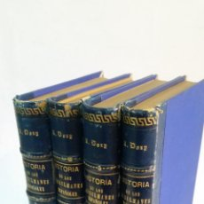Libros antiguos: 1878 - DOZY - HISTORIA DE LOS MUSULMANES ESPAÑOLES - 4 TOMOS, COMPLETA. Lote 235943540
