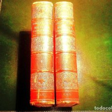 Libros antiguos: 1881 - HISTORIA UNIVERSAL - CÉSAR CANTÚ - TOMOS I Y II. Lote 239864725
