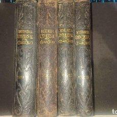Libri antichi: LOTE DE 4 TOMOS ANTIGUOS - HISTORIA UNIVERSAL POR CESAR CANTU , TOMO I IV VI X . LEER DESCRIPCION. Lote 239900345