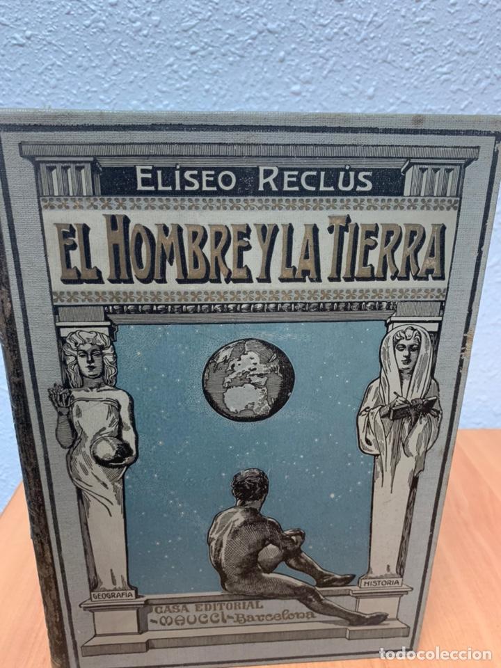 Libros antiguos: EL HOMBRE Y LA TIERRA.ELÍSEO RECLÚS. TOMOS I AL VI. CASA EDITORIAL MAUCCI. BARCELONA. - Foto 6 - 242066770