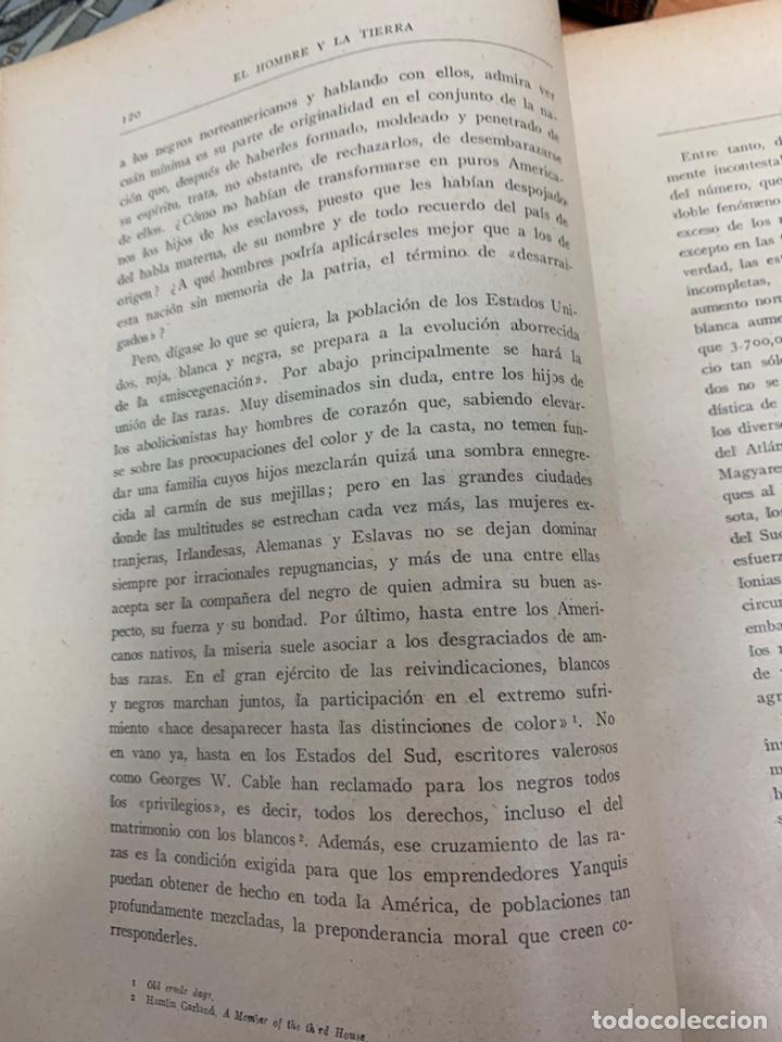 Libros antiguos: EL HOMBRE Y LA TIERRA.ELÍSEO RECLÚS. TOMOS I AL VI. CASA EDITORIAL MAUCCI. BARCELONA. - Foto 25 - 242066770