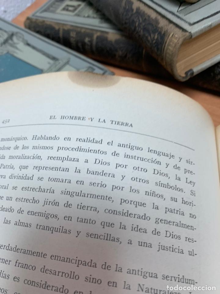 Libros antiguos: EL HOMBRE Y LA TIERRA.ELÍSEO RECLÚS. TOMOS I AL VI. CASA EDITORIAL MAUCCI. BARCELONA. - Foto 29 - 242066770