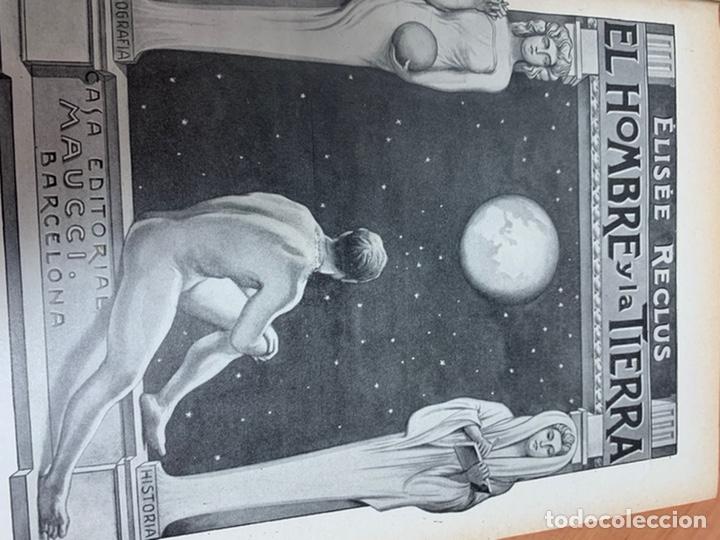 Libros antiguos: EL HOMBRE Y LA TIERRA.ELÍSEO RECLÚS. TOMOS I AL VI. CASA EDITORIAL MAUCCI. BARCELONA. - Foto 37 - 242066770