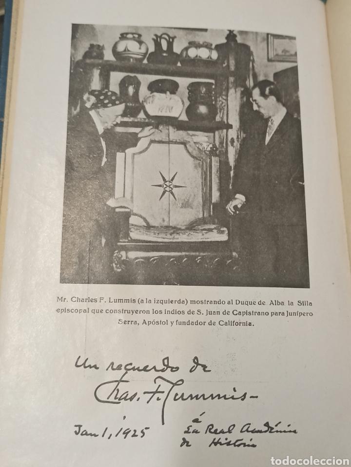 Libros antiguos: Los Exploradores Españoles del siglo XVI Charles F. Lummis Undécima Edición 1930 Editorial Araluce - Foto 6 - 243135185