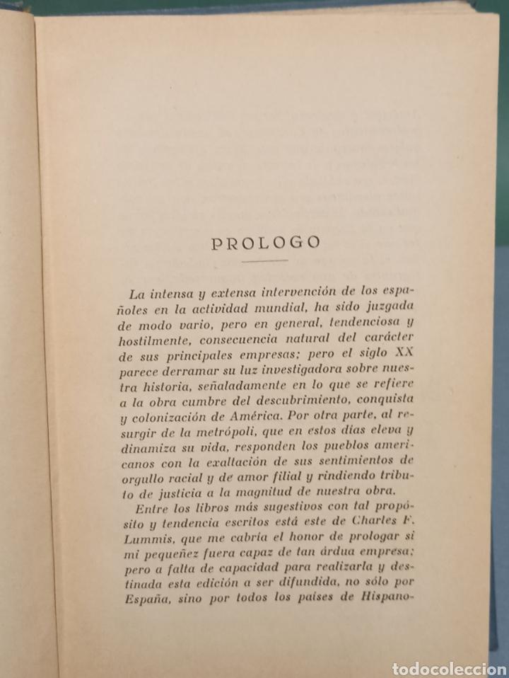 Libros antiguos: Los Exploradores Españoles del siglo XVI Charles F. Lummis Undécima Edición 1930 Editorial Araluce - Foto 9 - 243135185