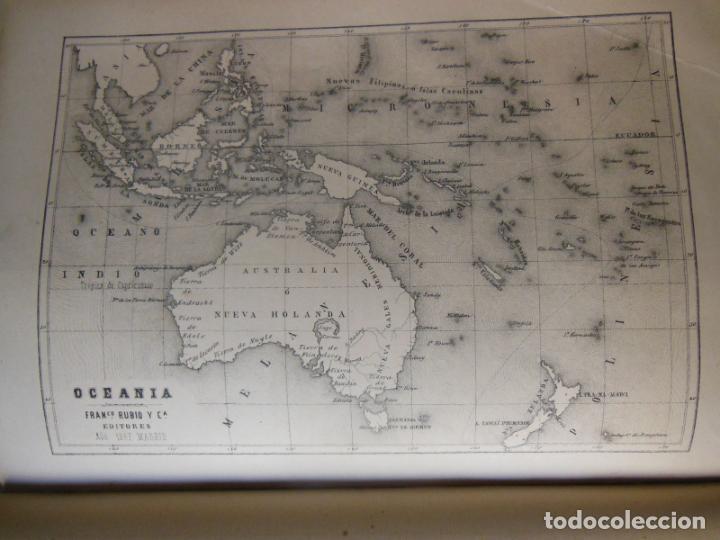 Libros antiguos: HISTORIAS Y MEMORIAS CONTEMPORANEAS: COMPENDIO DE GEOGRAFIA UNIVERSAL, ALEMANIA E ITALIA EN 1866. - Foto 2 - 243207675