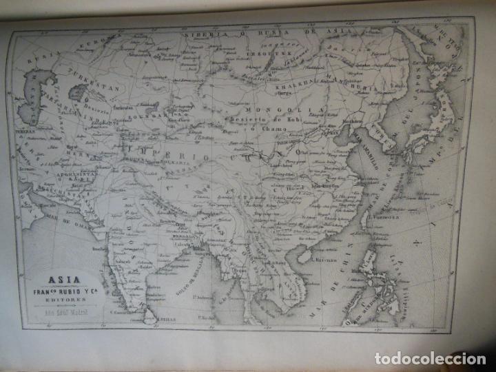 Libros antiguos: HISTORIAS Y MEMORIAS CONTEMPORANEAS: COMPENDIO DE GEOGRAFIA UNIVERSAL, ALEMANIA E ITALIA EN 1866. - Foto 3 - 243207675