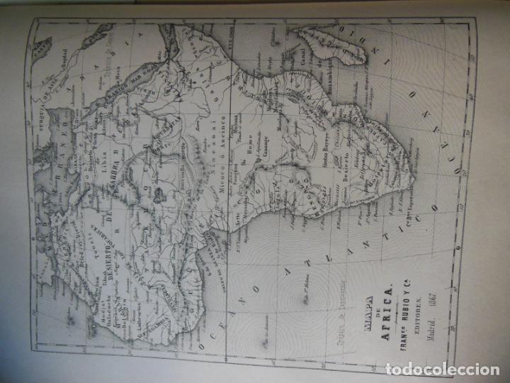 Libros antiguos: HISTORIAS Y MEMORIAS CONTEMPORANEAS: COMPENDIO DE GEOGRAFIA UNIVERSAL, ALEMANIA E ITALIA EN 1866. - Foto 4 - 243207675
