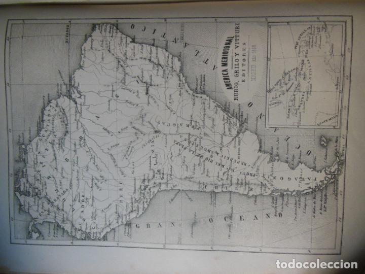 Libros antiguos: HISTORIAS Y MEMORIAS CONTEMPORANEAS: COMPENDIO DE GEOGRAFIA UNIVERSAL, ALEMANIA E ITALIA EN 1866. - Foto 5 - 243207675