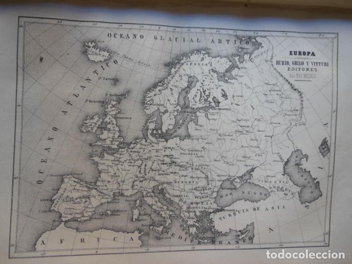 Libros antiguos: HISTORIAS Y MEMORIAS CONTEMPORANEAS: COMPENDIO DE GEOGRAFIA UNIVERSAL, ALEMANIA E ITALIA EN 1866. - Foto 6 - 243207675