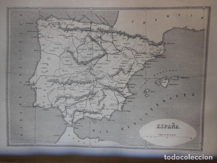 Libros antiguos: HISTORIAS Y MEMORIAS CONTEMPORANEAS: COMPENDIO DE GEOGRAFIA UNIVERSAL, ALEMANIA E ITALIA EN 1866. - Foto 7 - 243207675