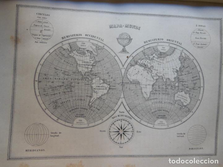 Libros antiguos: HISTORIAS Y MEMORIAS CONTEMPORANEAS: COMPENDIO DE GEOGRAFIA UNIVERSAL, ALEMANIA E ITALIA EN 1866. - Foto 9 - 243207675