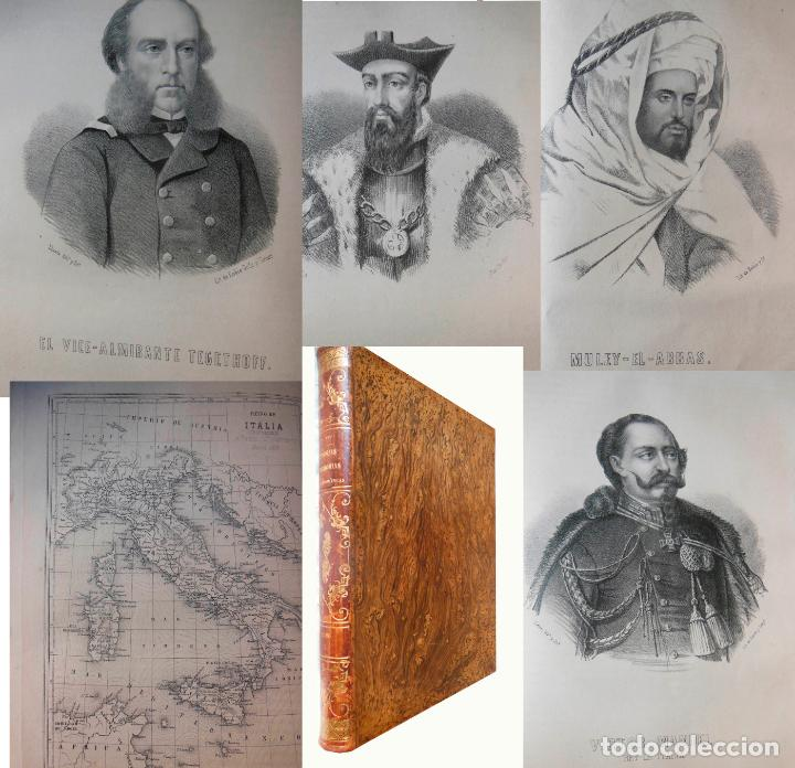 HISTORIAS Y MEMORIAS CONTEMPORANEAS: COMPENDIO DE GEOGRAFIA UNIVERSAL, ALEMANIA E ITALIA EN 1866. (Libros antiguos (hasta 1936), raros y curiosos - Historia Antigua)
