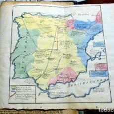 Libros antiguos: RARO,LA HISTORIA GENERAL DE LA ESPAÑA, FRAY MANUEL MERINO 1829, CON MAPA. Lote 243884265