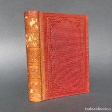 Libri antichi: 1867 - POESIA Y ARTE DE LOS ARABES EN ESPAÑA Y SICILIA - HISTORIA DE LA DOMINACION MUSULMANA. Lote 244017885