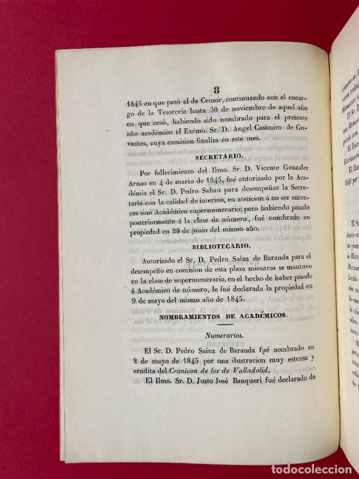 Libros antiguos: 1847 - DISCURSO A LA REAL ACADEMIA ESPAÑOLA - BARON DE LAJOYOSA - Foto 4 - 244431485