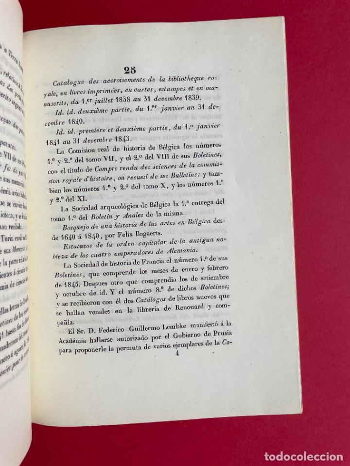 Libros antiguos: 1847 - DISCURSO A LA REAL ACADEMIA ESPAÑOLA - BARON DE LAJOYOSA - Foto 6 - 244431485