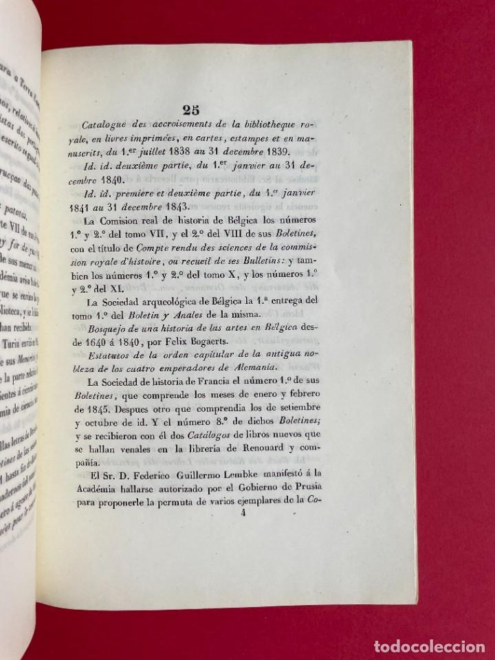 Libros antiguos: 1847 - DISCURSO A LA REAL ACADEMIA ESPAÑOLA - BARON DE LAJOYOSA - Foto 7 - 244431485