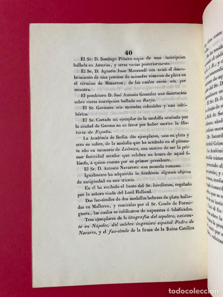 Libros antiguos: 1847 - DISCURSO A LA REAL ACADEMIA ESPAÑOLA - BARON DE LAJOYOSA - Foto 9 - 244431485