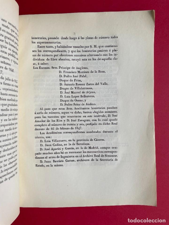 Libros antiguos: 1850 - DISCURSO LEIDO A LA REAL ACADEMIA DE HISTORIA POR EL BARON DE LAJOYOSA - Foto 5 - 244432155