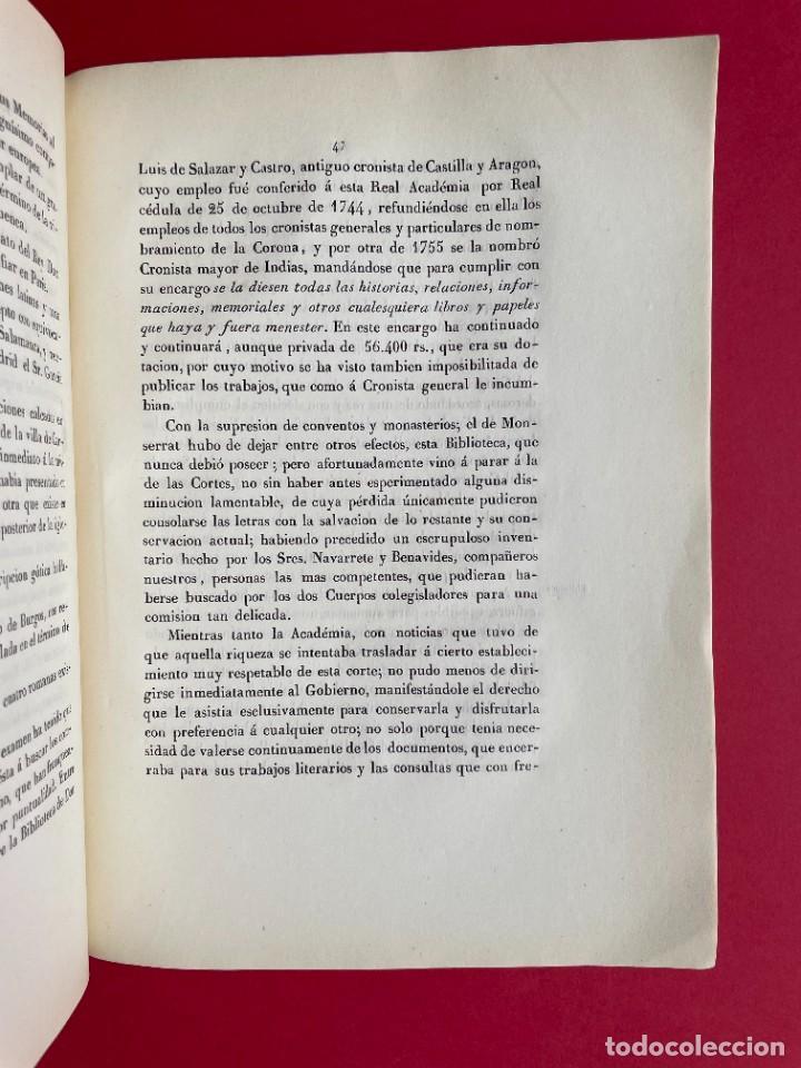 Libros antiguos: 1850 - DISCURSO LEIDO A LA REAL ACADEMIA DE HISTORIA POR EL BARON DE LAJOYOSA - Foto 8 - 244432155