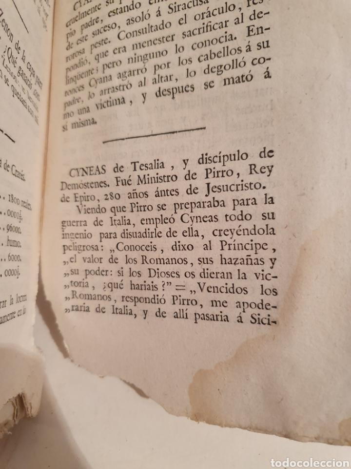 Libros antiguos: DICCIONARIO MANUAL DE HECHOS MEMORABLES DE LA HISTORIA ANTIGUA. MADRID 1794. IMPRENTA REAL. - Foto 2 - 244437570