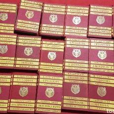 Libros antiguos: BENITO PÉREZ GALDÓS, EPISODIOS NACIONALES , 21 TOMOS 1929-30. Lote 244490515