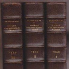 Libros antiguos: JOSÉ AMADOR DE LOS RÍOS: HISTORIA DE LOS JUDÍOS DE ESPAÑA Y PORTUGAL. 1875-76. 3 VOLS. 1ª EDICIÓN. Lote 244743610