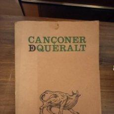 Libros antiguos: CANÇONER DEL SANTUARI DE QUERALT. Lote 244816785