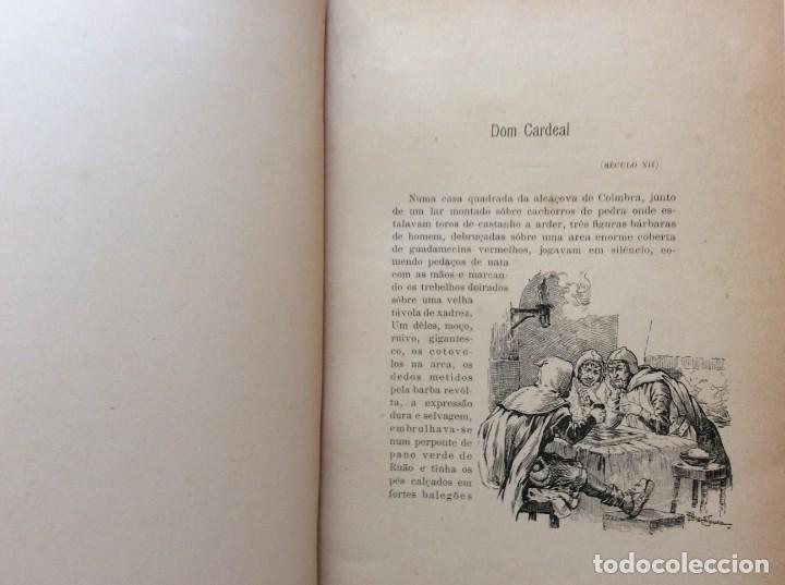 Libros antiguos: Patria portuguesa. Por Júlio Dantas Ilustraciones de Alberto de Sousa. 2-ª edicion, 1915. Muy raro. - Foto 5 - 244877115