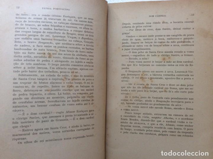 Libros antiguos: Patria portuguesa. Por Júlio Dantas Ilustraciones de Alberto de Sousa. 2-ª edicion, 1915. Muy raro. - Foto 6 - 244877115