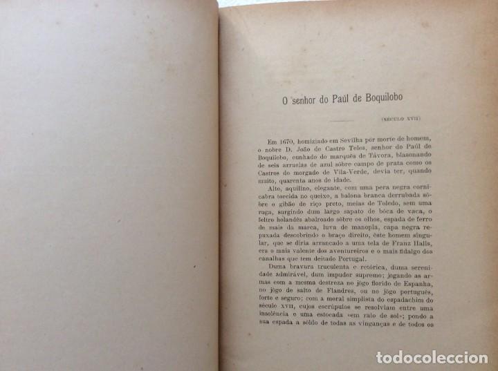 Libros antiguos: Patria portuguesa. Por Júlio Dantas Ilustraciones de Alberto de Sousa. 2-ª edicion, 1915. Muy raro. - Foto 8 - 244877115